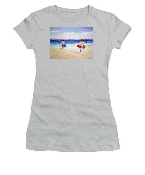 Beach Boys Australia Women's T-Shirt (Athletic Fit)