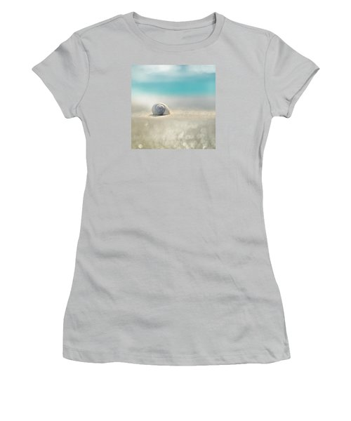Beach House Women's T-Shirt (Junior Cut) by Laura Fasulo