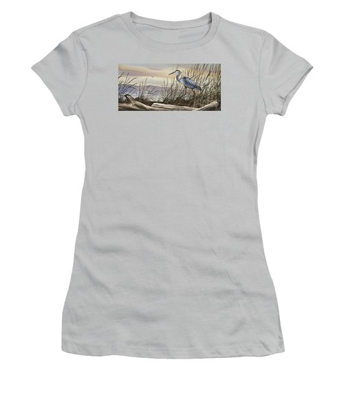 Beauty Along The Shore Women's T-Shirt (Junior Cut) by James Williamson