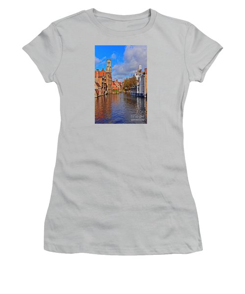 Beauty Of Belgium Women's T-Shirt (Athletic Fit)