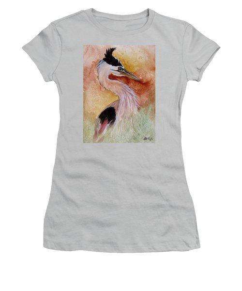Behind The Grasses Women's T-Shirt (Junior Cut) by Lil Taylor