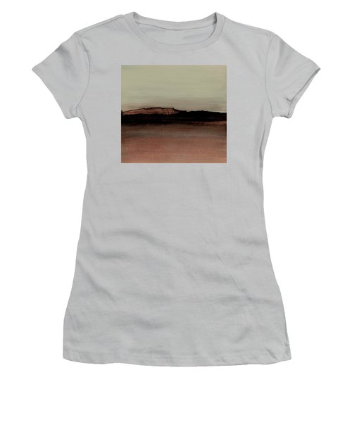Between The Woods And Frozen Lake  Number 1133-10 Women's T-Shirt (Athletic Fit)