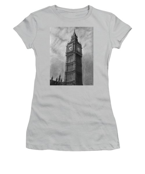 Big Ben London Women's T-Shirt (Athletic Fit)