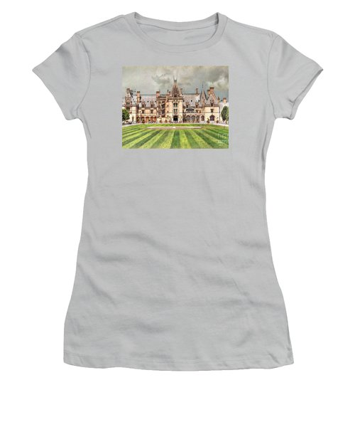 Biltmore House Women's T-Shirt (Junior Cut) by Savannah Gibbs