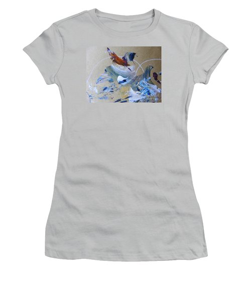 Bird Song Women's T-Shirt (Athletic Fit)