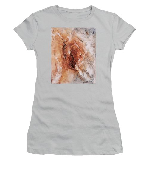 Birth Of The Earth 01 Women's T-Shirt (Junior Cut) by Emerico Imre Toth
