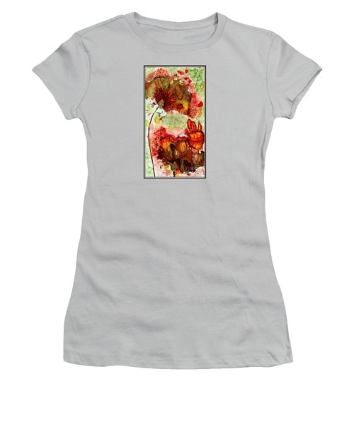Blooming Impressions.. Women's T-Shirt (Athletic Fit)
