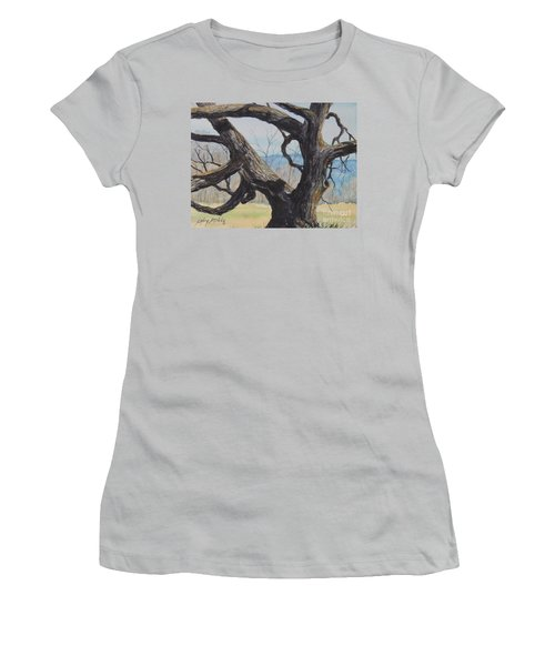 Blue Ridge Memories...sold Women's T-Shirt (Athletic Fit)