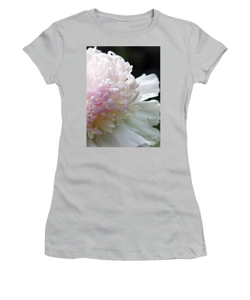 Blushing Peony  Women's T-Shirt (Athletic Fit)