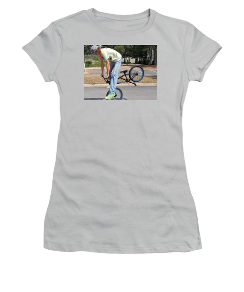 Bmx Rider Women's T-Shirt (Athletic Fit)