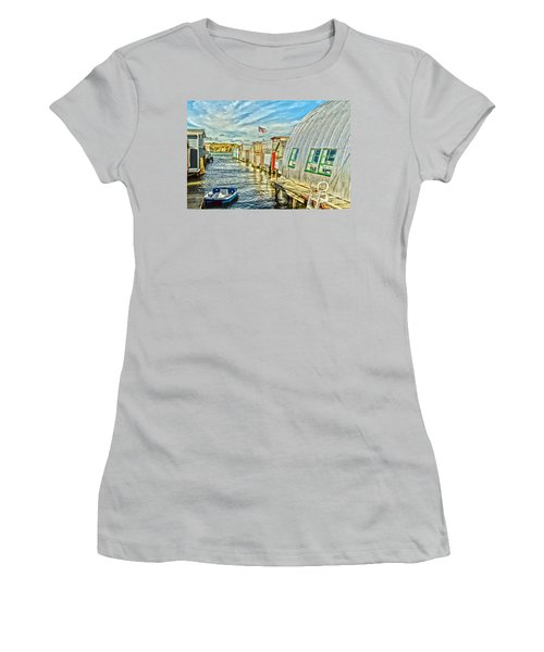 Boathouse Alley Women's T-Shirt (Athletic Fit)
