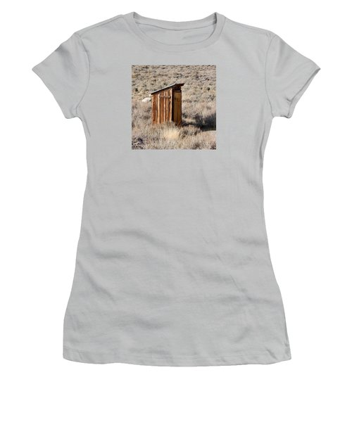 Bodie Outhouse Women's T-Shirt (Junior Cut) by Art Block Collections