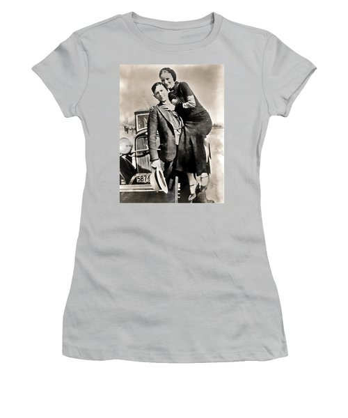 Bonnie And Clyde - Texas Women's T-Shirt (Athletic Fit)