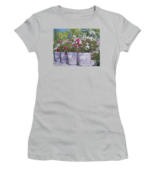 Bougainvillea Women's T-Shirt (Athletic Fit)