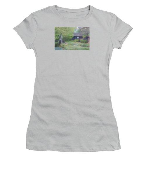 Bridge To Harmony Women's T-Shirt (Junior Cut) by Debra     Vatalaro