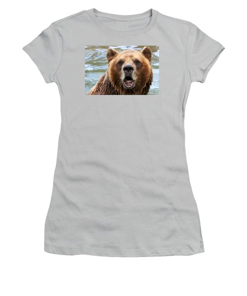 Canadian Grizzly Women's T-Shirt (Athletic Fit)