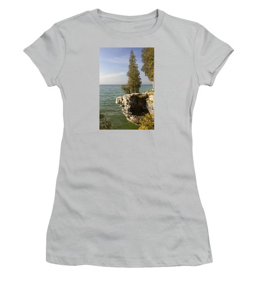 Cave Point - Signed Women's T-Shirt (Athletic Fit)
