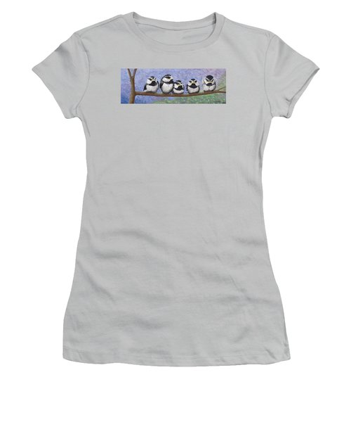 Chickadee Chicks Women's T-Shirt (Athletic Fit)