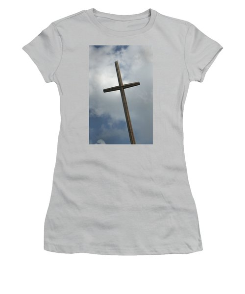 Christian Cross Women's T-Shirt (Athletic Fit)