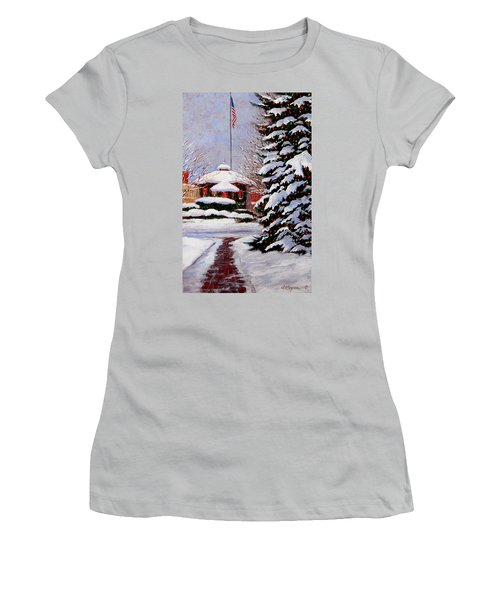 Christmas In Chagrin Falls Women's T-Shirt (Athletic Fit)