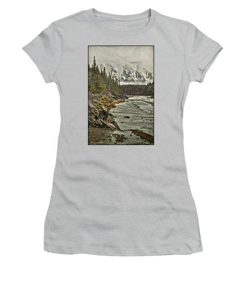 Chugach Range Women's T-Shirt (Athletic Fit)