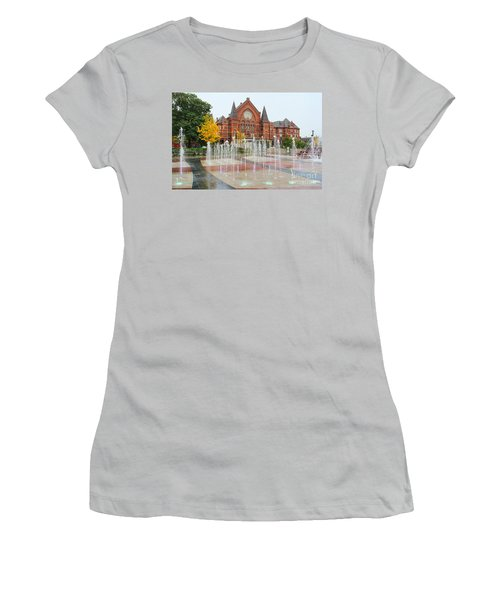 Cincinnati Music Hall 0001 Women's T-Shirt (Athletic Fit)