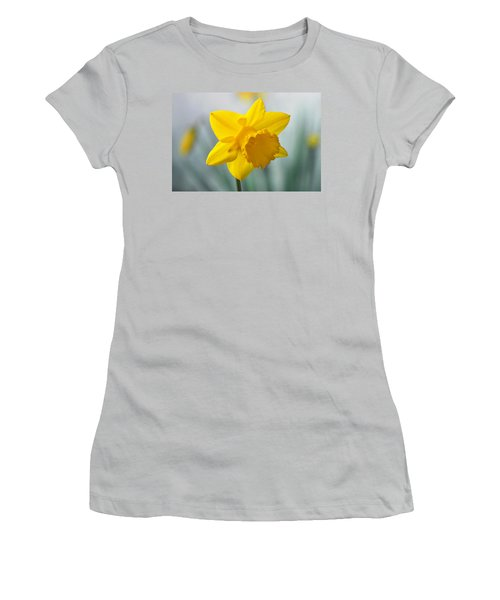 Classic Spring Daffodil Women's T-Shirt (Junior Cut) by Terence Davis