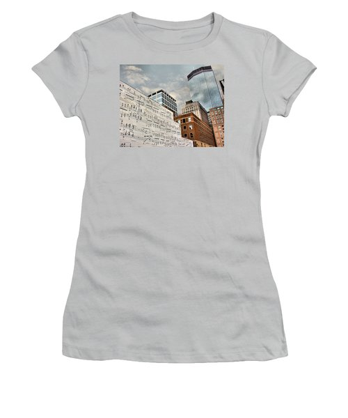 Classical Graffiti Women's T-Shirt (Athletic Fit)