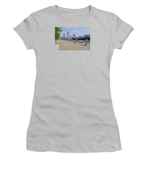Cleveland Lake Front Women's T-Shirt (Athletic Fit)