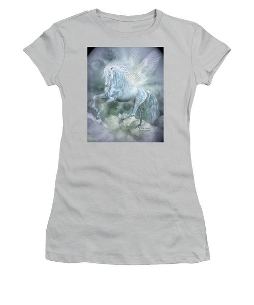 Cloud Dancer Women's T-Shirt (Athletic Fit)