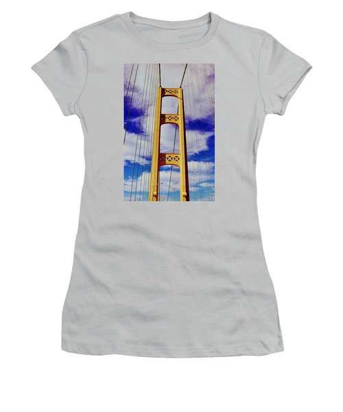 Women's T-Shirt (Junior Cut) featuring the photograph Clouds by Daniel Thompson