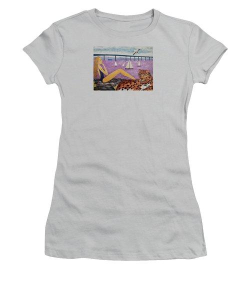 Coronado Bridge   San Diego Women's T-Shirt (Junior Cut)