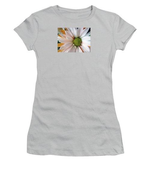 Women's T-Shirt (Junior Cut) featuring the photograph Creamsicle by Jean OKeeffe Macro Abundance Art