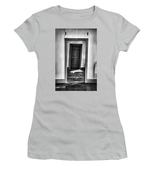 Crooked Door Women's T-Shirt (Athletic Fit)