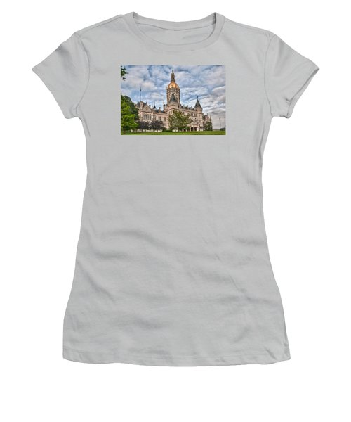 Ct State Capitol Building Women's T-Shirt (Athletic Fit)