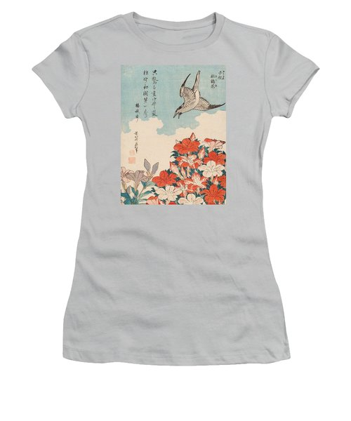 Cuckoo And Azaleas Women's T-Shirt (Athletic Fit)