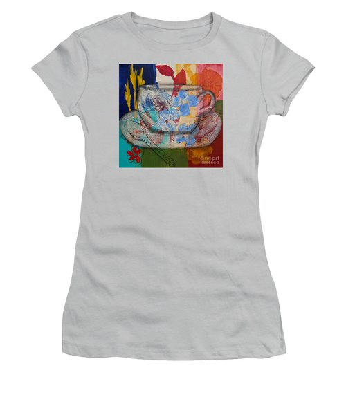 Cuppa Luv Women's T-Shirt (Athletic Fit)