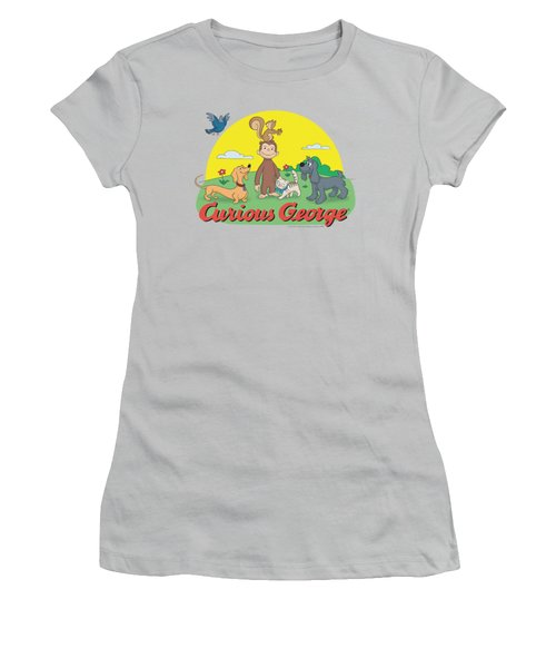 Curious George - Sunny Friends Women's T-Shirt (Athletic Fit)