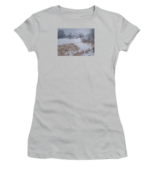 December Women's T-Shirt (Junior Cut) by Joy Nichols