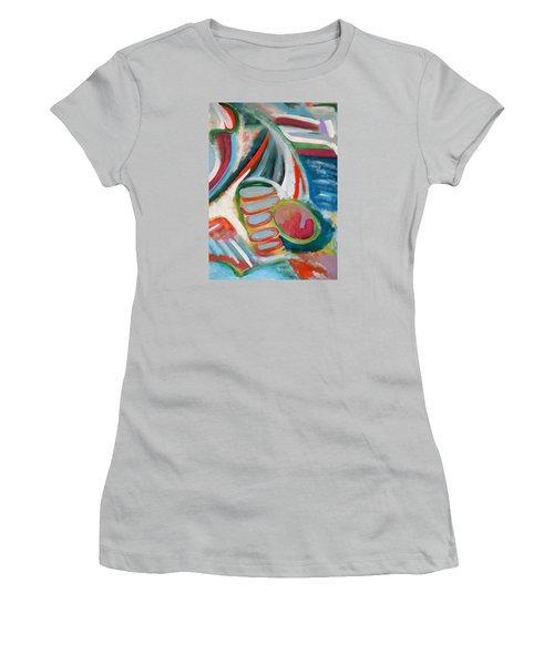 Deep In Thought Women's T-Shirt (Athletic Fit)
