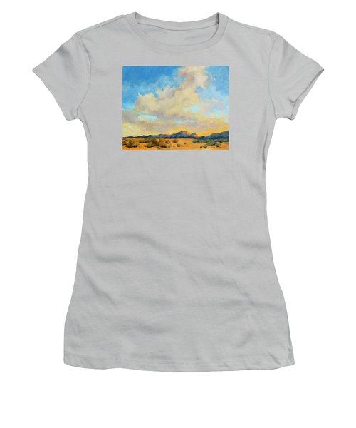 Desert Clouds Women's T-Shirt (Athletic Fit)