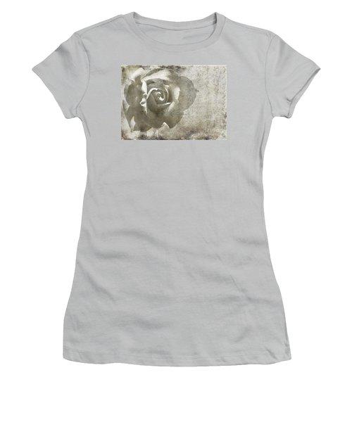 Women's T-Shirt (Junior Cut) featuring the photograph Distant Dreams by Ellen Cotton