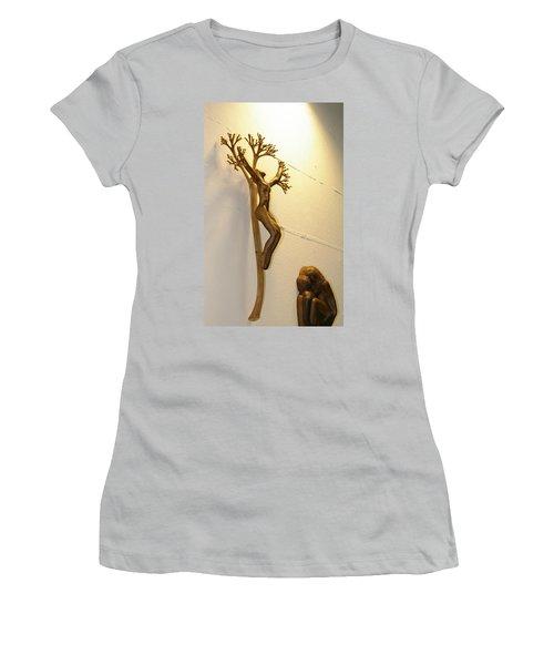 Divine Light Women's T-Shirt (Athletic Fit)