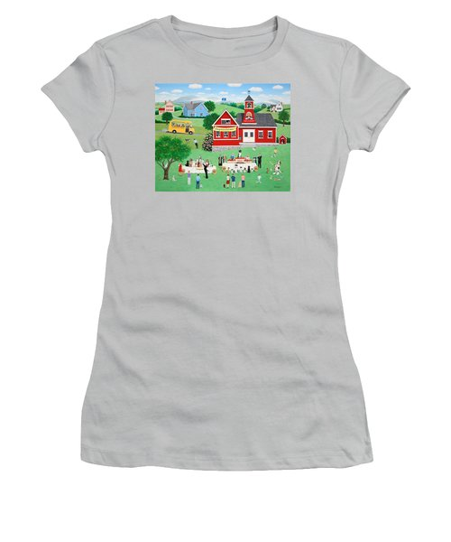 Doggie Graduation Day Women's T-Shirt (Athletic Fit)
