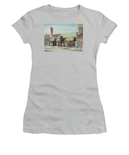 Domenicos In Long Beach Women's T-Shirt (Athletic Fit)