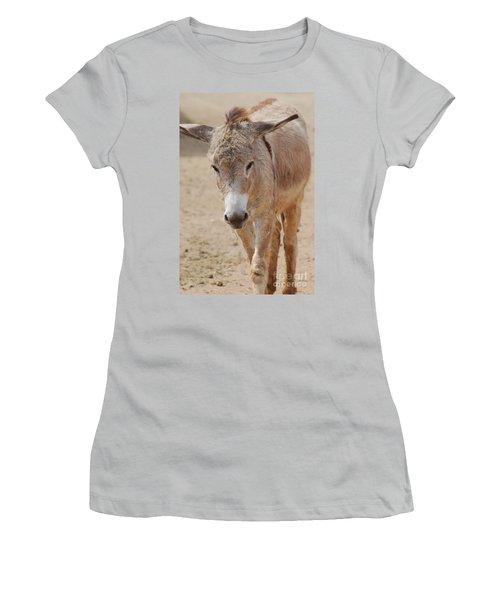 Donkey Women's T-Shirt (Junior Cut) by DejaVu Designs