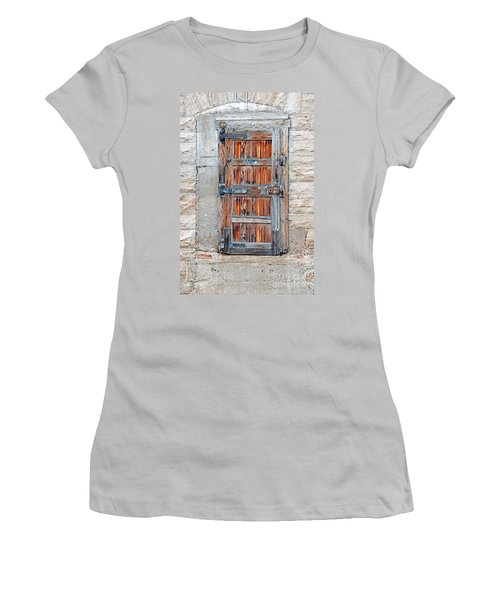 Door Series Women's T-Shirt (Junior Cut) by Minnie Lippiatt