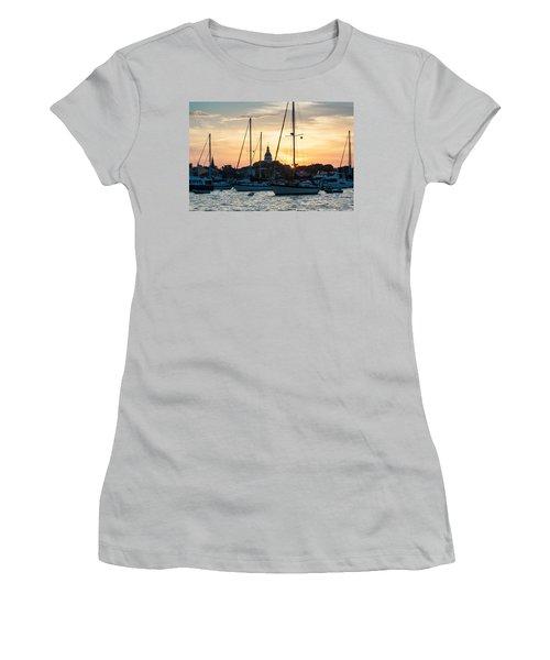 Downtown Glow Women's T-Shirt (Junior Cut)