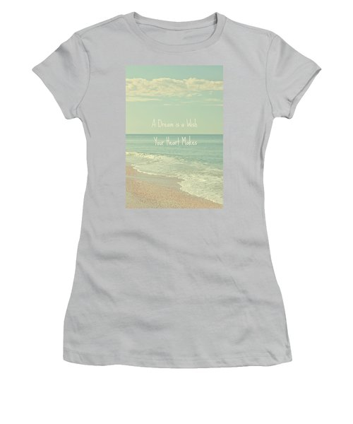 Dreams And Wishes Women's T-Shirt (Athletic Fit)