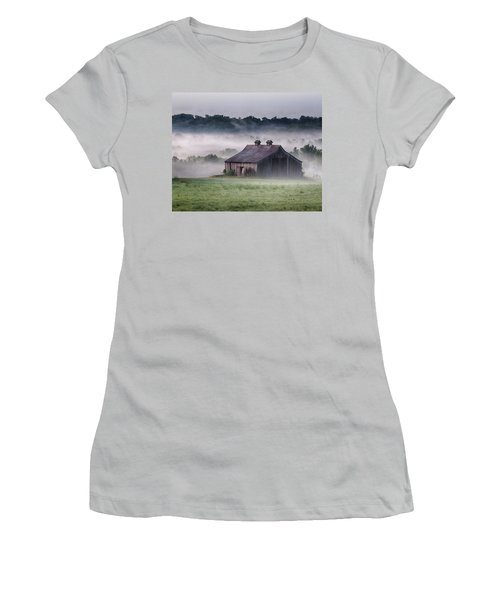 Early Morning In The Mist Standard Women's T-Shirt (Athletic Fit)
